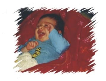 Tom 6 Wochen alt - Dez. 2001